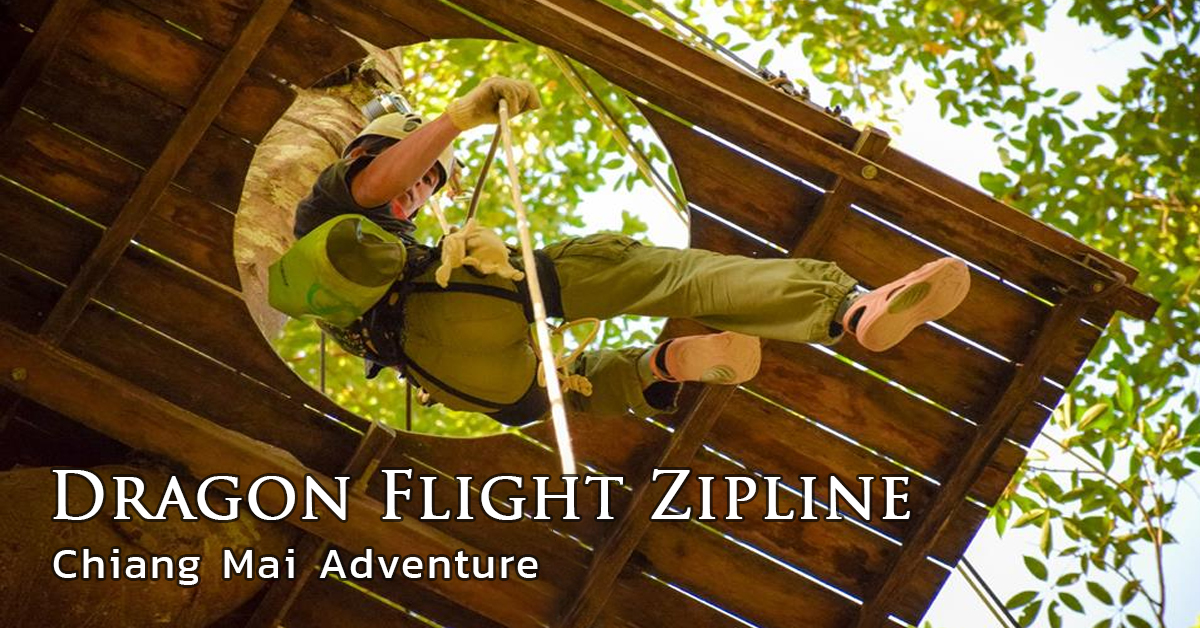 Dragon Flight Zipline Chiang Mai Adventure